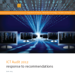 ICT Audit 2012