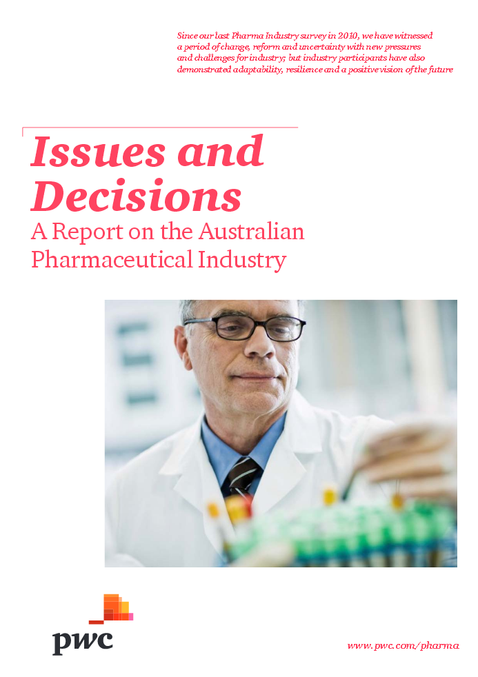 Australian Pharma Industry Report PWC July 213