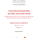 Digital Economy Scoping Brief - Global Foundation Feb 2013