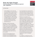 Enter The Cyber Dragon - Chinese Military Cyber Capabilities