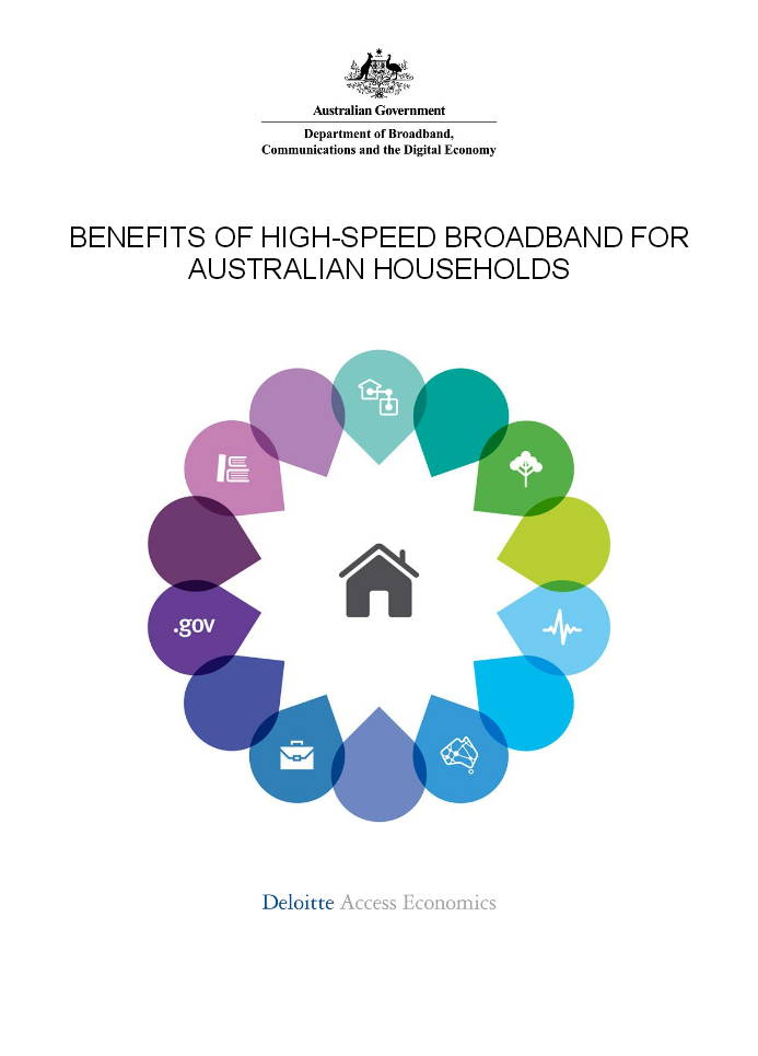 Benefits of Broadband - DBCDE Deloitte Access Economics September 2013