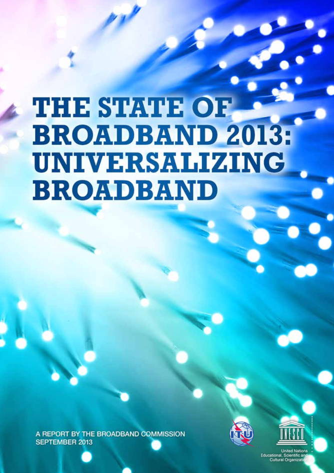 Global State of Broadband ITU September 2013