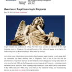 Overview of Angel Investing in Singapore - NUS May 2011