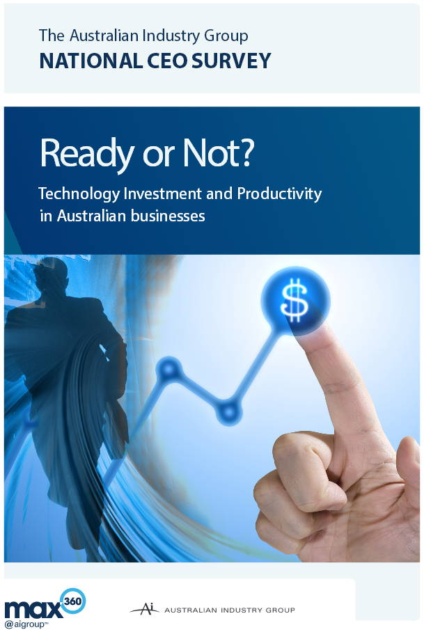 Technology Investment and Productivity in Australian Businesses - AIGroup June 2013