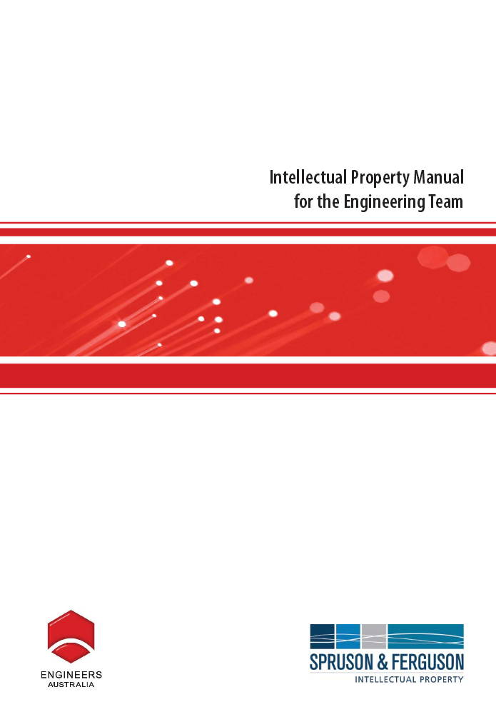 IP Manual for Engineering Team Sprusons Feb 2009