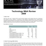 Tech Mergers and Acquisitions Review for 2009 - ICON February 2010