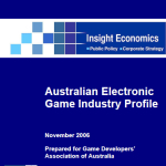 Australian Games Industry Profile Insight GDAA Nov 2006