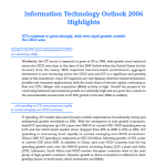 2006 Global Information Technology Outlook Report Executive Summary OECD