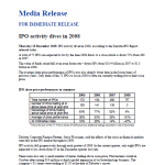 2008 ASX IPO Activity Dives in 2008 Deloitte Dec 2008