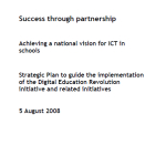 2008 Digital Eductation Revolutn Strategic Plan Aug 2008
