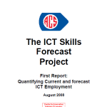 2008 ICT Skills Forecasting Report CIER ACS Aug 2008