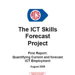 2008 ICT Skills Forecasting Report CIER ACS Aug 2008