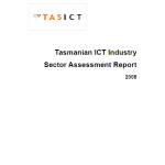 2008 Tasmanian ICT Sector Assessment TASICT Feb 2009