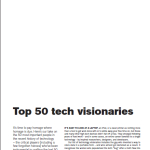 2008 Top 50 ICT Visionaries ACS Aug 2008
