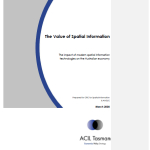 2008 Value of Spatial Information – Spatial Info CRC March 2008