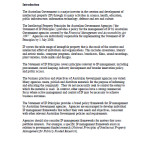 Statement Intellectual Property Principles for Australian Government Agencies July 2008